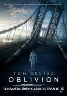 Oblivion - Turkish Movie Poster (xs thumbnail)