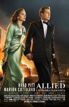 Allied - Italian Movie Poster (xs thumbnail)