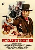 Pat Garrett & Billy the Kid - Italian Movie Poster (xs thumbnail)