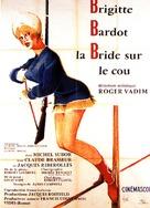 La bride sur le cou - French Movie Poster (xs thumbnail)