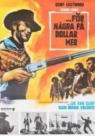 Per qualche dollaro in più - Swedish Movie Poster (xs thumbnail)