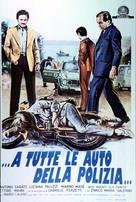 ...a tutte le auto della polizia - Italian Movie Poster (xs thumbnail)