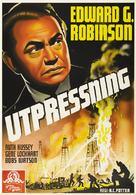 Blackmail - Swedish Movie Poster (xs thumbnail)