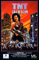 TNT Jackson - Norwegian VHS cover (xs thumbnail)