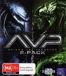 AVP: Alien Vs. Predator - Australian Blu-Ray cover (xs thumbnail)