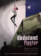 Un condamné à mort s'est échappé ou Le vent souffle où il veut - Danish Movie Poster (xs thumbnail)