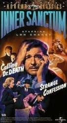 Calling Dr. Death - VHS movie cover (xs thumbnail)