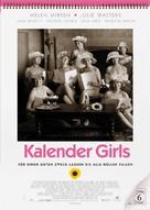 Calendar Girls - German Movie Poster (xs thumbnail)