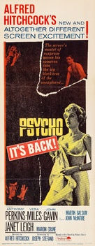 Psycho - Re-release movie poster (xs thumbnail)