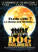 Dog Soldiers - French Movie Poster (xs thumbnail)