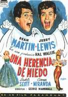 Scared Stiff - Spanish Movie Poster (xs thumbnail)