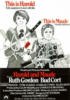 Harold and Maude - German Movie Poster (xs thumbnail)
