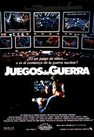 WarGames - Spanish Movie Poster (xs thumbnail)