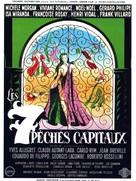 Sept pèchès capitaux, Les - French Movie Poster (xs thumbnail)