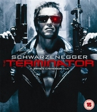The Terminator - British Blu-Ray movie cover (xs thumbnail)