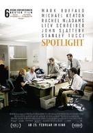Spotlight - German Movie Poster (xs thumbnail)