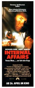 Internal Affairs - German Movie Poster (xs thumbnail)