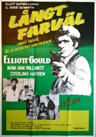 The Long Goodbye - Swedish Movie Poster (xs thumbnail)