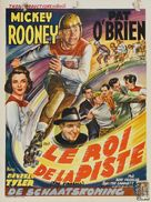The Fireball - Belgian Movie Poster (xs thumbnail)
