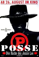 Posse - German Movie Poster (xs thumbnail)
