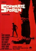 Black Spurs - German Movie Poster (xs thumbnail)
