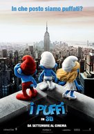 The Smurfs - Italian Movie Poster (xs thumbnail)