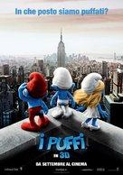The Smurfs - Italian Movie Poster (xs thumbnail)