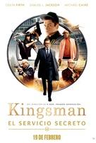 Kingsman: The Secret Service - Mexican Movie Poster (xs thumbnail)