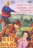 Red River - Spanish Movie Poster (xs thumbnail)
