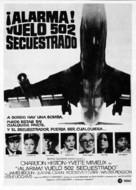 Skyjacked - Spanish Movie Poster (xs thumbnail)