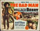 The Bad Man - Movie Poster (xs thumbnail)