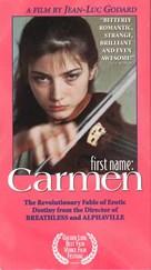 Prénom Carmen - VHS cover (xs thumbnail)