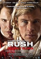 Rush - Argentinian Movie Poster (xs thumbnail)