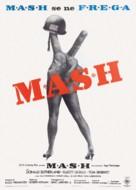 MASH - Italian Theatrical movie poster (xs thumbnail)