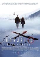 The X Files: I Want to Believe - Croatian Movie Poster (xs thumbnail)