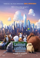 The Secret Life of Pets - Estonian Movie Poster (xs thumbnail)