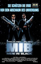 Men In Black - German Movie Poster (xs thumbnail)