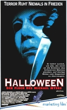 Halloween: The Curse of Michael Myers - German Movie Cover (xs thumbnail)