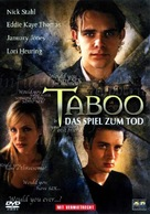 Taboo - German Movie Cover (xs thumbnail)