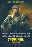 Sabotage - Movie Poster (xs thumbnail)