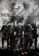 The Expendables 2 - Mexican Movie Cover (xs thumbnail)
