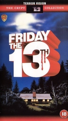 Friday the 13th - British Movie Cover (xs thumbnail)