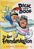 The Flying Deuces - German Movie Poster (xs thumbnail)