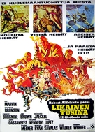 The Dirty Dozen - Finnish Theatrical movie poster (xs thumbnail)