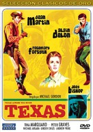 Texas Across the River - Spanish DVD movie cover (xs thumbnail)