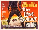 The Last Sunset - British Movie Poster (xs thumbnail)