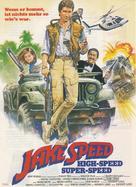 Jake Speed - German Movie Poster (xs thumbnail)