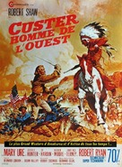 Custer of the West - French Movie Poster (xs thumbnail)