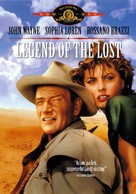 Legend of the Lost - DVD movie cover (xs thumbnail)