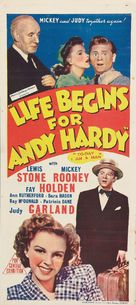 Life Begins for Andy Hardy - Australian Movie Poster (xs thumbnail)